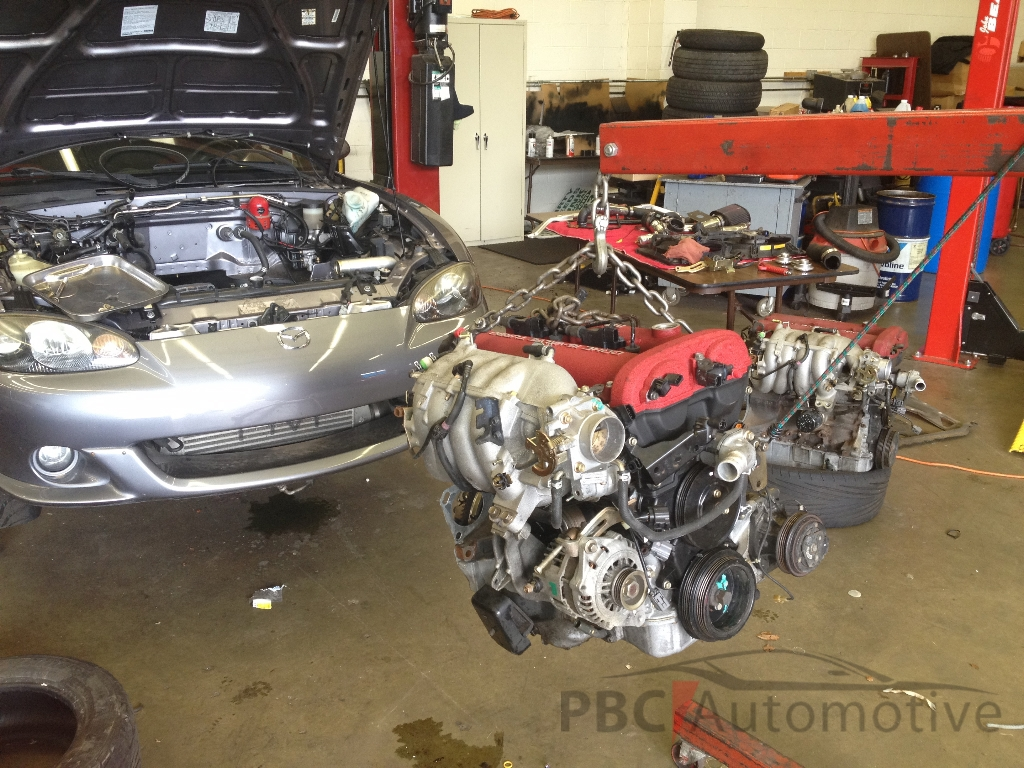 Miata Engine Swap